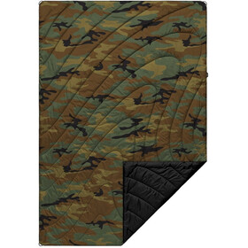 Rumpl Original Puffy Printed Deken 1 persoon, woodland camo